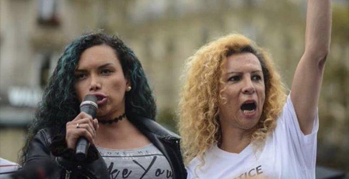 Marche @existrans à Paris: « « Lutter contre la transphobie, c'est une démarche qui peut bénéficier à toute la société» par @Mediapart Lien : Photo