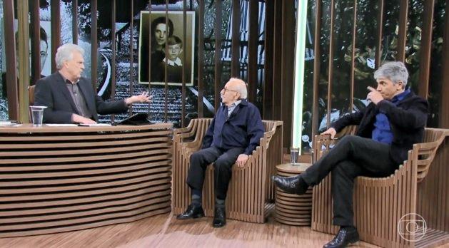 #ConversaComBial escuta depoimentos de sobreviventes do Holocausto. Veja agora na #GloboNews. Foto