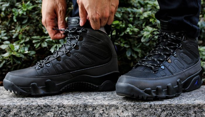 size 40 9392f 69b28 NEW black concord Air Jordan 9 Retro Boot NRG + FREE domestic US shipping   Footaction -  http   bit.ly 2PuYuEA Eastbay -  http   bit.ly 2QOrmIe ...