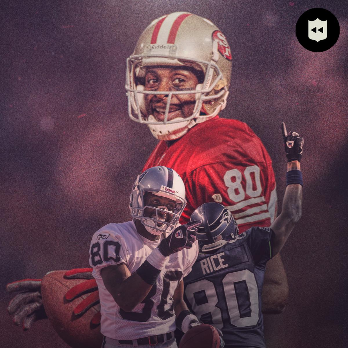 More catches (1,549) than anyone. More receiving yards (22,895) than anyone. More total TD (208) than any position player.  Let's all wish @ProFootballHOF WR @JerryRice a HAPPY BIRTHDAY! 🐐(via @NFLhistory)
