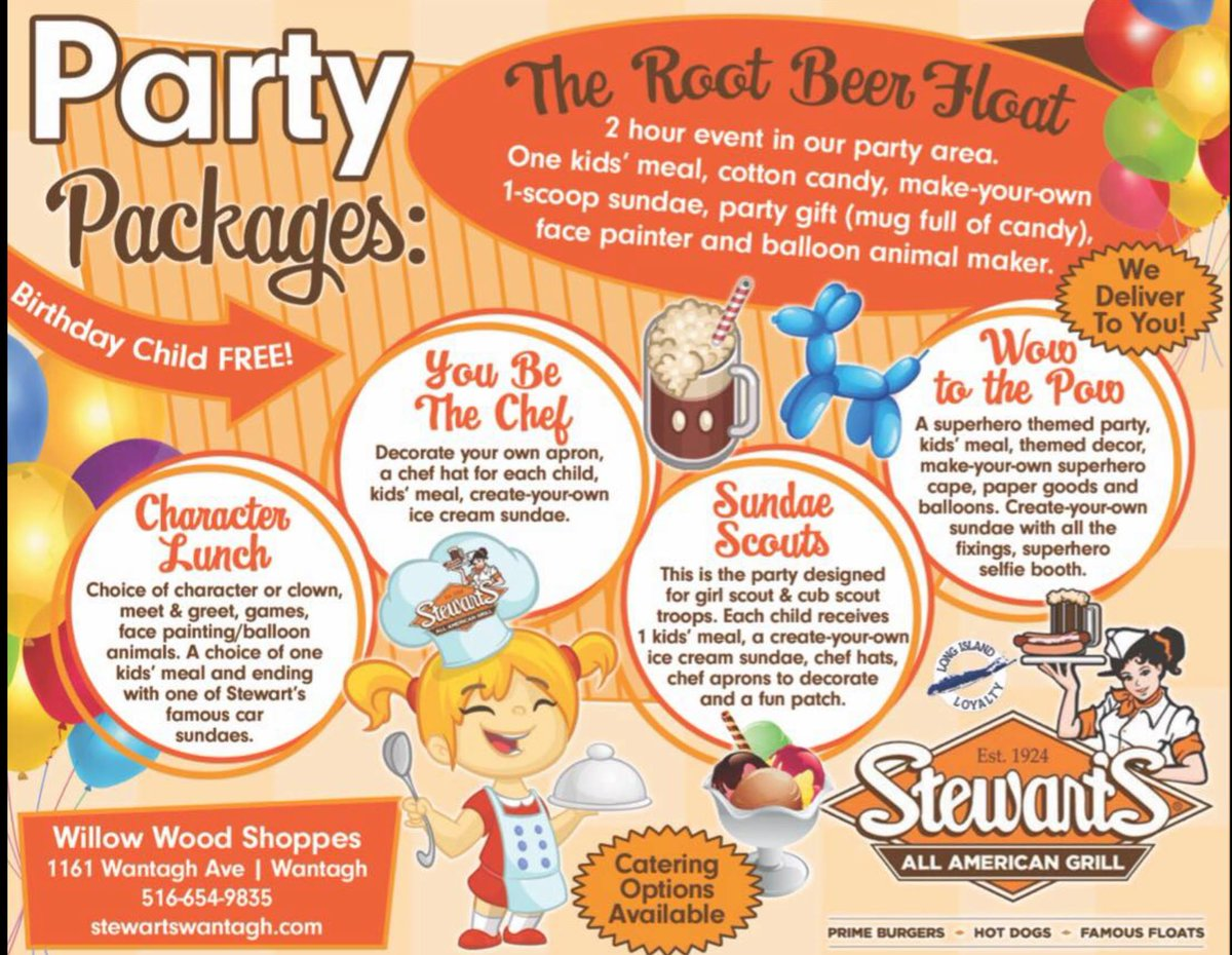 Long Island Loyalty On Twitter Awesome Party Packages From