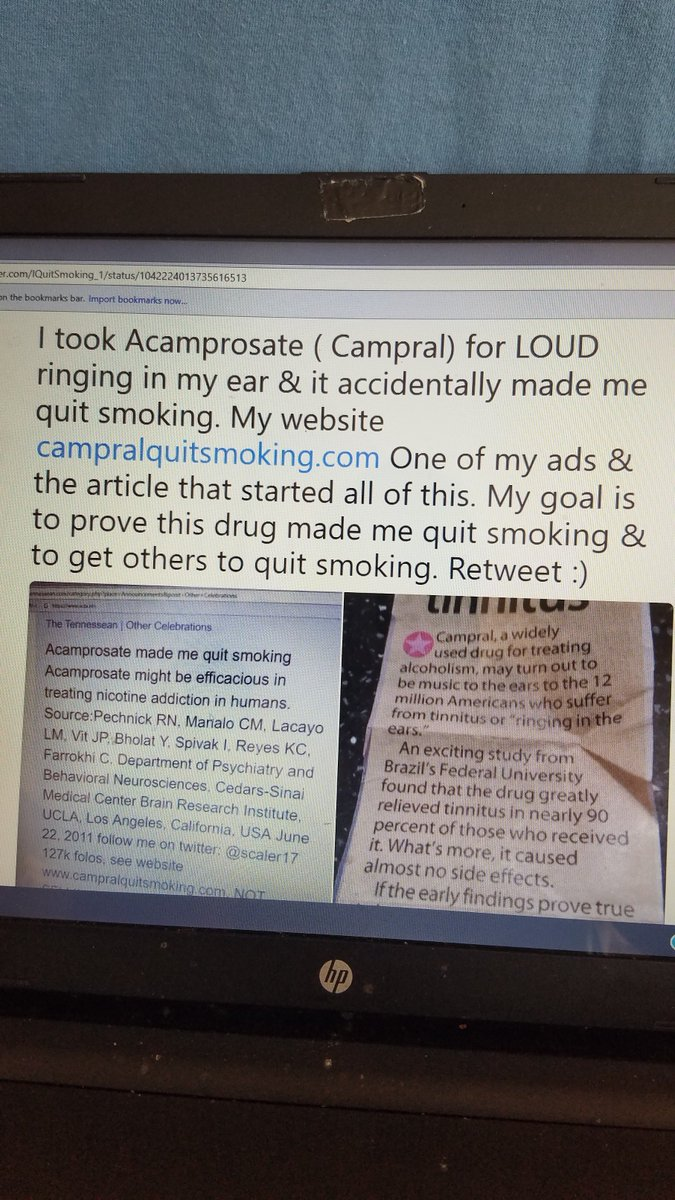 I Quit Smoking on Twitter: