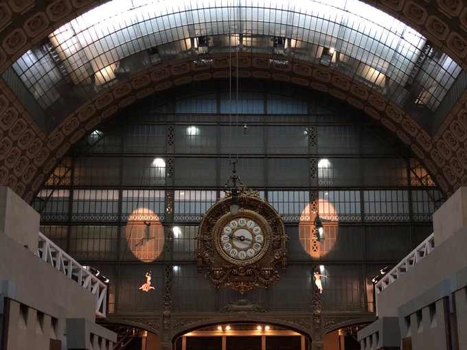 Ce soir rendez vous au @MuseeOrsay pour l'événement #Picassocircus ! 🙃 Photo