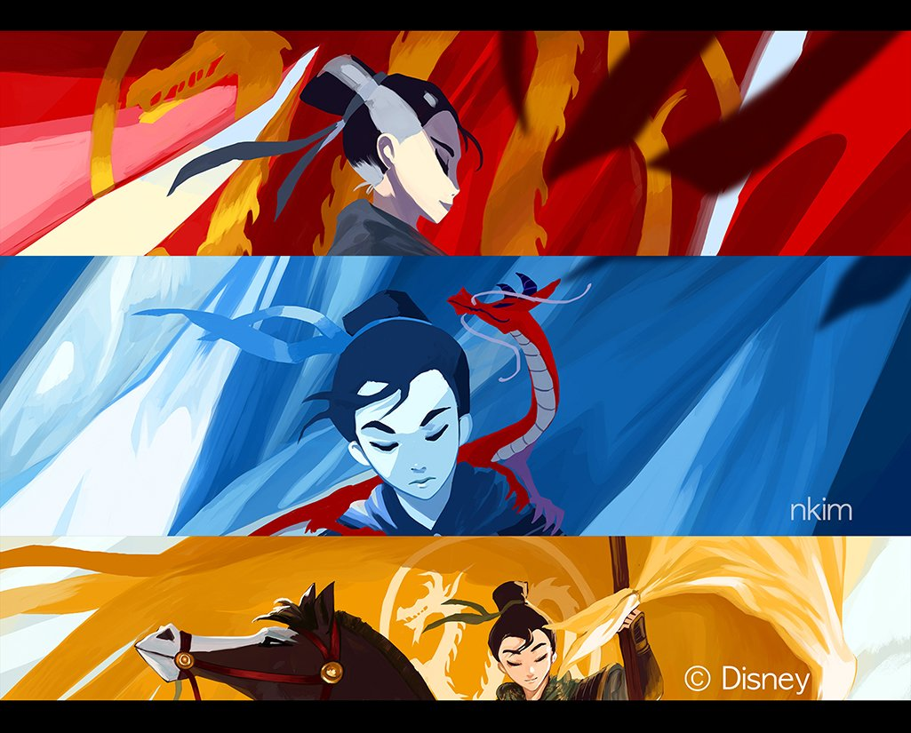 A sneak peek of my pieces for the 20th Anniversary Tribute Show for Disney&#39;s MULAN @gallerynucleus It&#39;ll be on October 20th- November 4th! :D<br>http://pic.twitter.com/opV9Ezzzx9