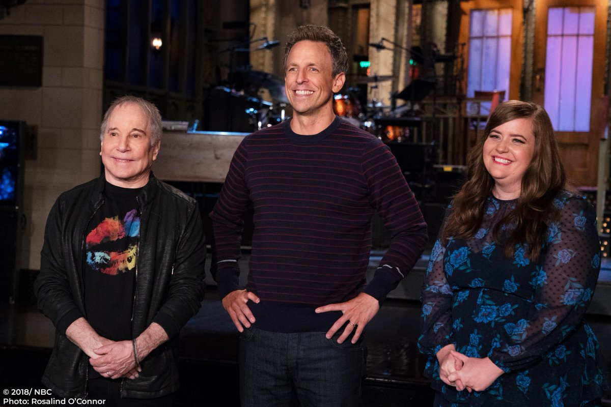 Saturday Night Live Snl On Twitter 𝐓𝐎𝐍𝐈𝐆𝐇𝐓 Sethmeyers Comes Back To Studio 8h To Host Snl With Musical Guest Paulsimonmusic
