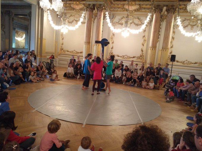 Place au cirque dans la salle des fêtes @MuseeOrsay ! #picassocircus Photo