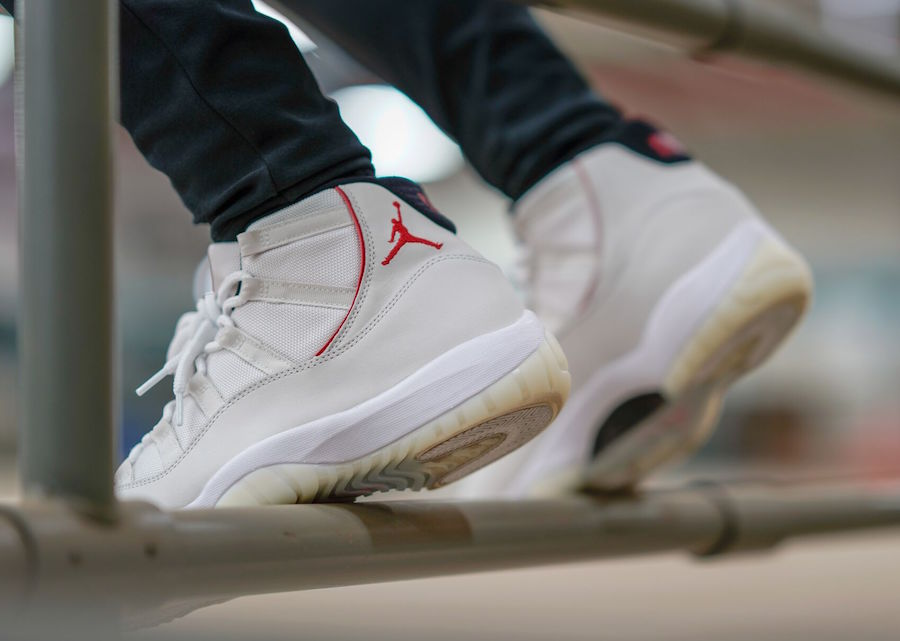 41dbe5d02f8cf On-feet look at the upcoming Air Jordan 11 Retro in new