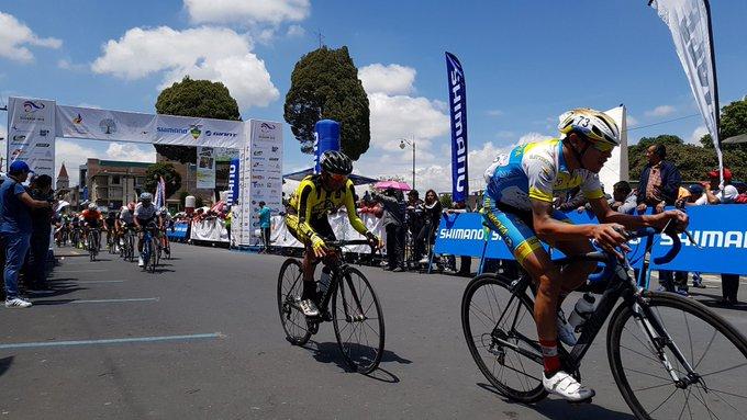 Faltan tres giros para que culmine la novena etapa y la #VueltaCiclísticaEC. 🇪🇨🚴♂️ Foto