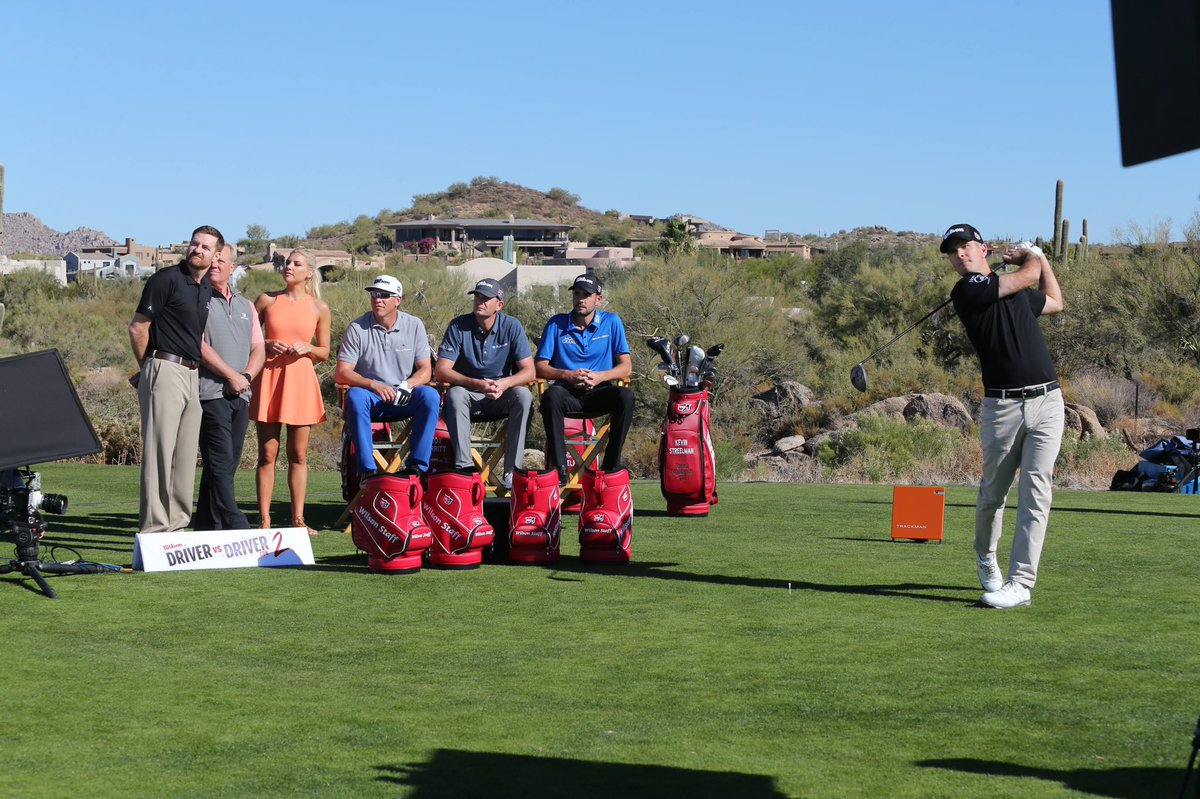 The competition to design @WilsonGolf's next driver is heating up! @Streels54, @Brendan_Steele, @RealRickyBarnes & @TROYMERRITT_PGA test out six prototypes & give us their feedback during an all-new #DriverVsDriver Tuesday at 9pm ET on @GolfChannel