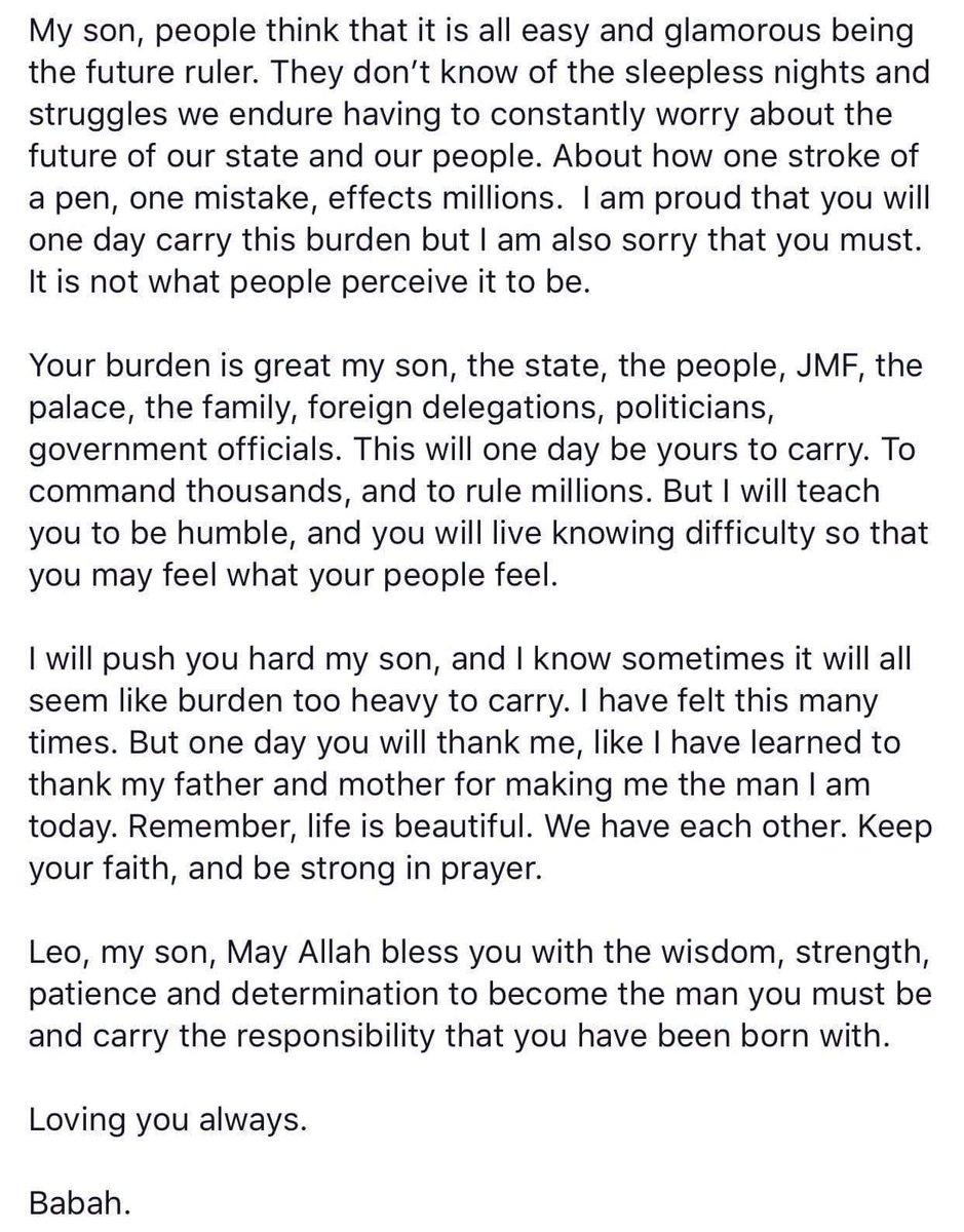 HRH Crown Prince of Johor on Twitter: