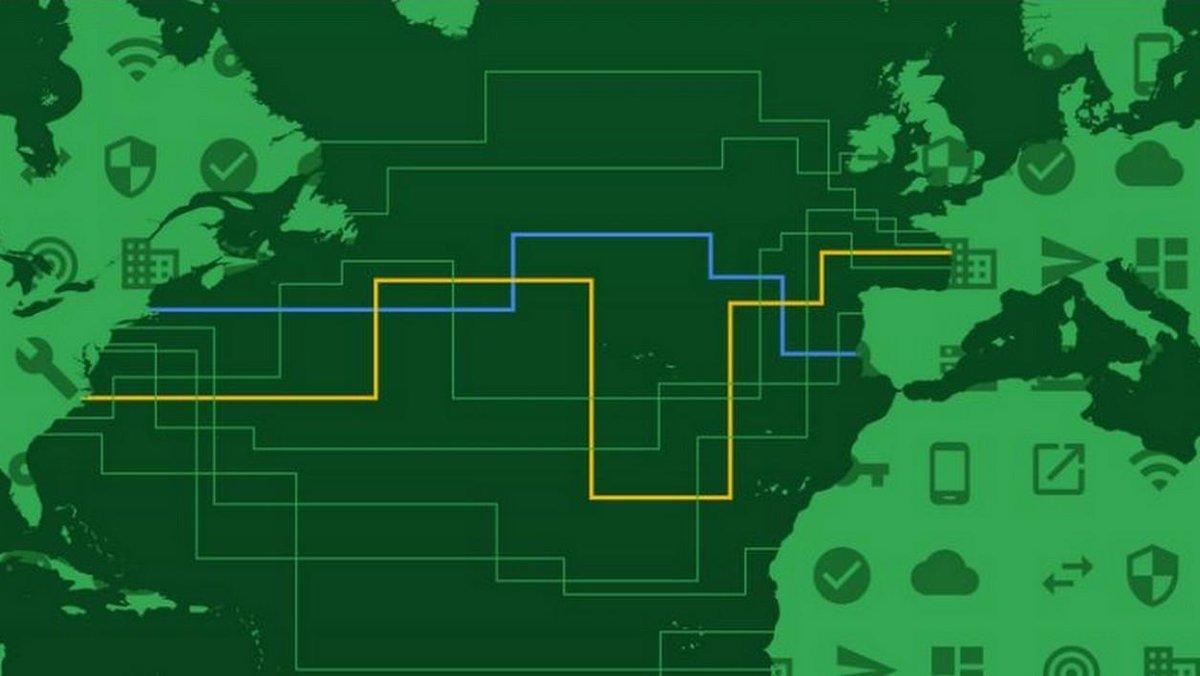 Orange va profiter du futur câble transatlantique de Google https://t.co/bcIDWNuWwu