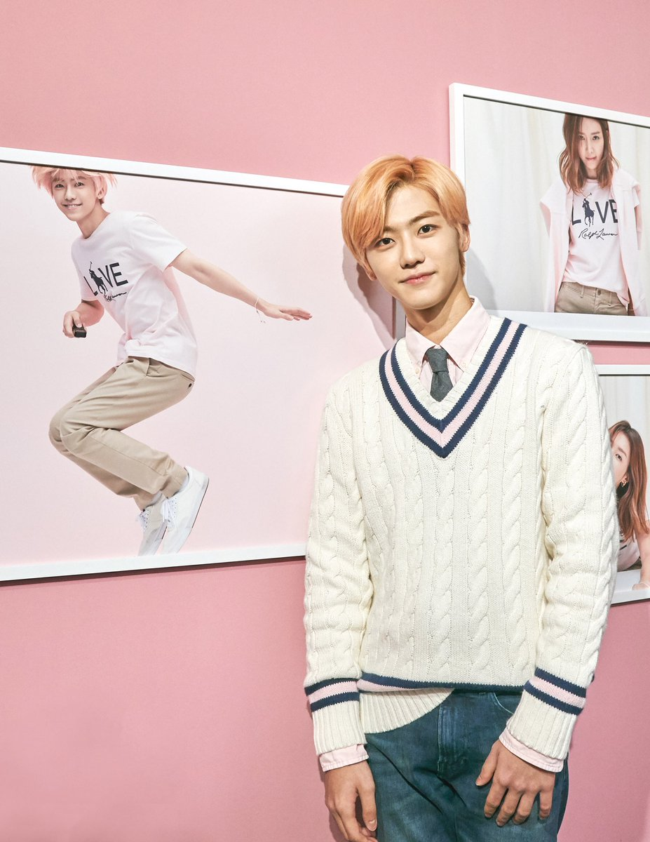 Jaemin and Lucas of @NCTsmtown visit our #PinkPony exhibition in Seoul, Korea, featuring photography by Choi Yong Bin.  Join us in the fight against cancer. Learn more at https://t.co/eq9hYVsVAj— link in bio.