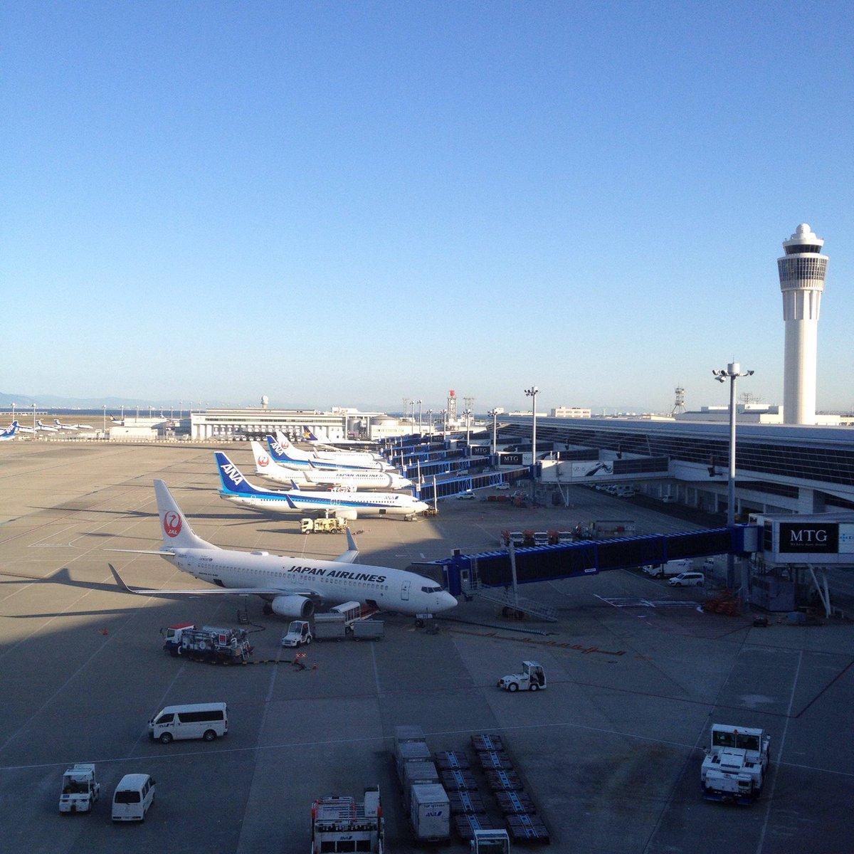 セントレア(中部国際空港)国内線駐機場