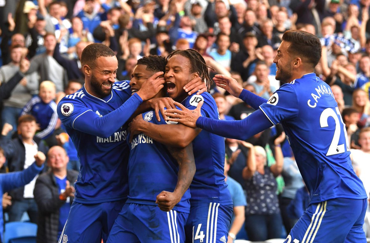 Cardiff scored 4+ goals in a #PL match for the first time in the club's history  #CARFUL
