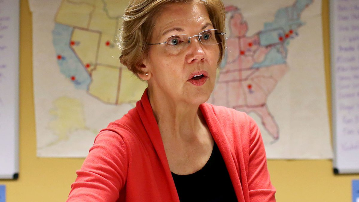 Elizabeth Warren Disappointed After DNA Test Shows Zero Trace Of Presidential Material https://t.co/85xBVyJD3g