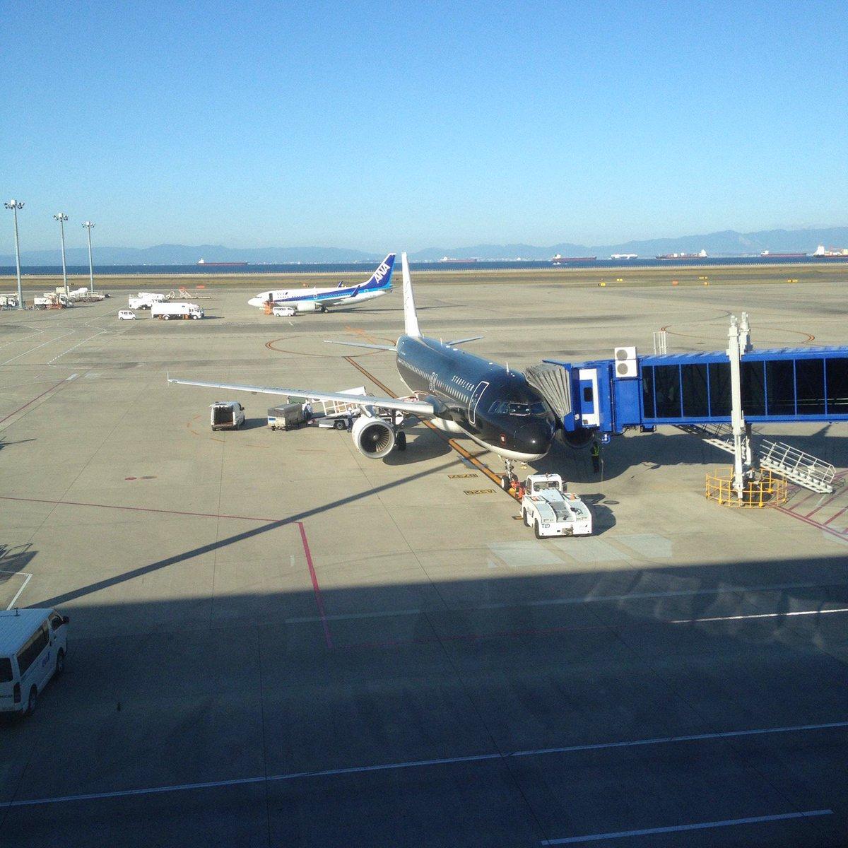 セントレア(中部国際空港)スターフライヤー ANA3831