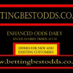 Image for the Tweet beginning: BEST ODDS Tipped #PremierLeague Acca Tues