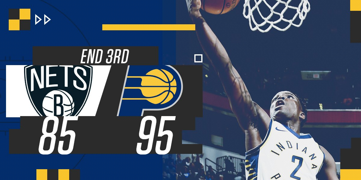 Three down, one to go  Get stats in the #Pacers mobile app