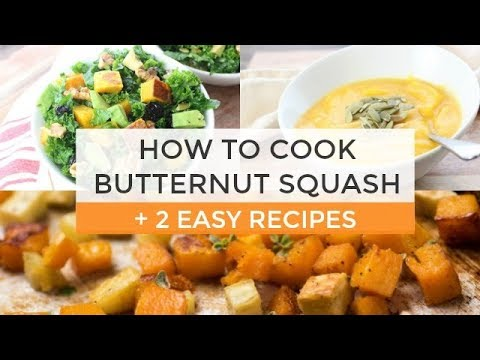 How To Cook Butternut Squash + 2 Easy Butternut Squash Recipes https://t.co/XuZ4HFMOlm https://t.co/6IPR8nbTBh