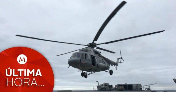 #ÚLTIMAHORA | Se desploma helicóptero de la #Semar en el Golfo de California https://t.co/vvlatF1x28