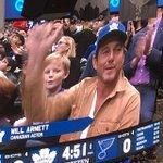 Image for the Tweet beginning: Will Arnett cheering on the