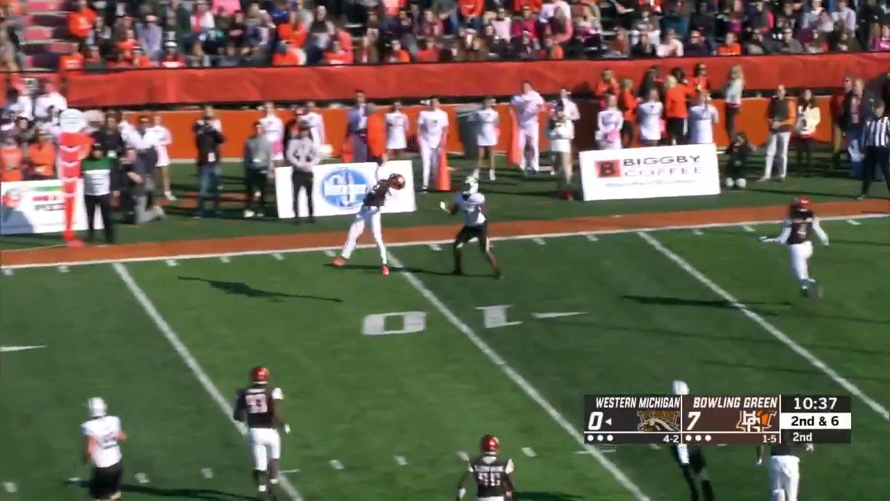 ONE. HANDED. PICK. We see you, Clint Stephens �� https://t.co/Yg1IrEEe4Q
