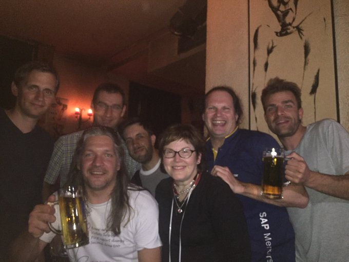 #nofilters #sitMUC aftershow appreciation - what a exhausting but WELL worthing day with a finishing at least I like most 🛶 Foto