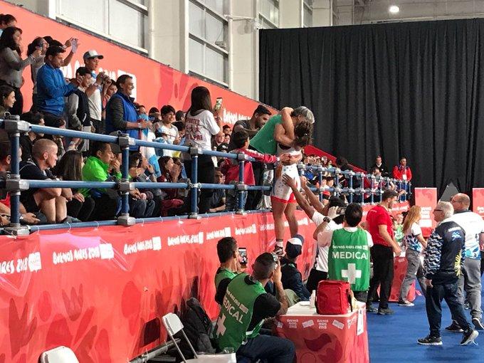 ¡La argentina Linda Machuca es finalista en la lucha femenina -73 kg! Batió por 5-3 a la tunecina Jlassi y cerró su grupo de manera invicta. Irá por la dorada ante la cubana Milaimys Marin. Foto