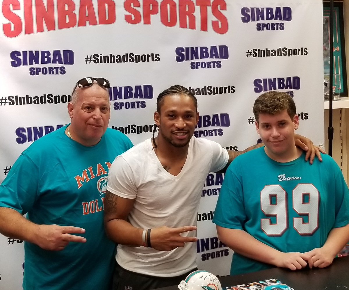 Big mike on twitter meet and greet with miamidolphins wr albert big mike on twitter meet and greet with miamidolphins wr albert wilson at sinbad sports m4hsunfo