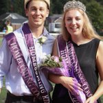 Throwback to last Saturday when Andrew Gottfried and Brianna Beard were crowned #HPUHomecoming King 👑 and Queen 👑! #HPUTraditions