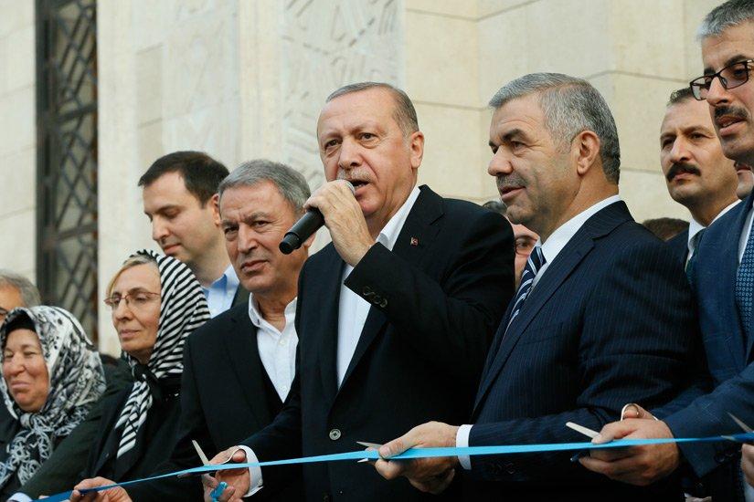 President Erdoan Inaugurates General Hulusi Akar Mosque Tccbgovtr En News 542 99