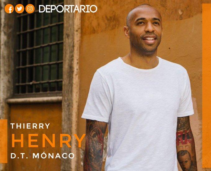 #Monaco   Es oficial: Thierry #Henry es el nuevo técnico del @AS_Monaco Photo