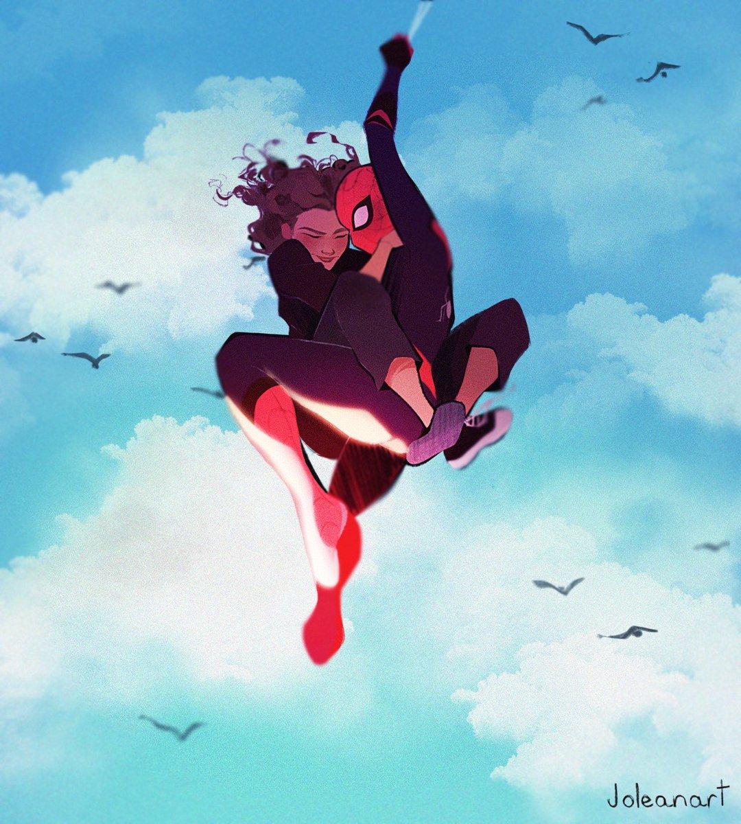 the new pics just killed me ❤???????? #spiderman