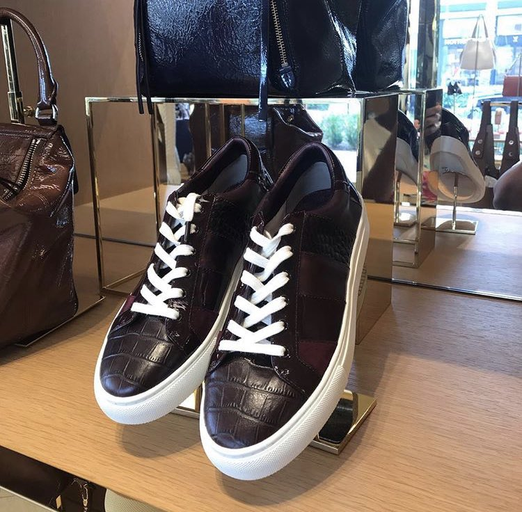 Tory Burch Ames sneakers. Included
