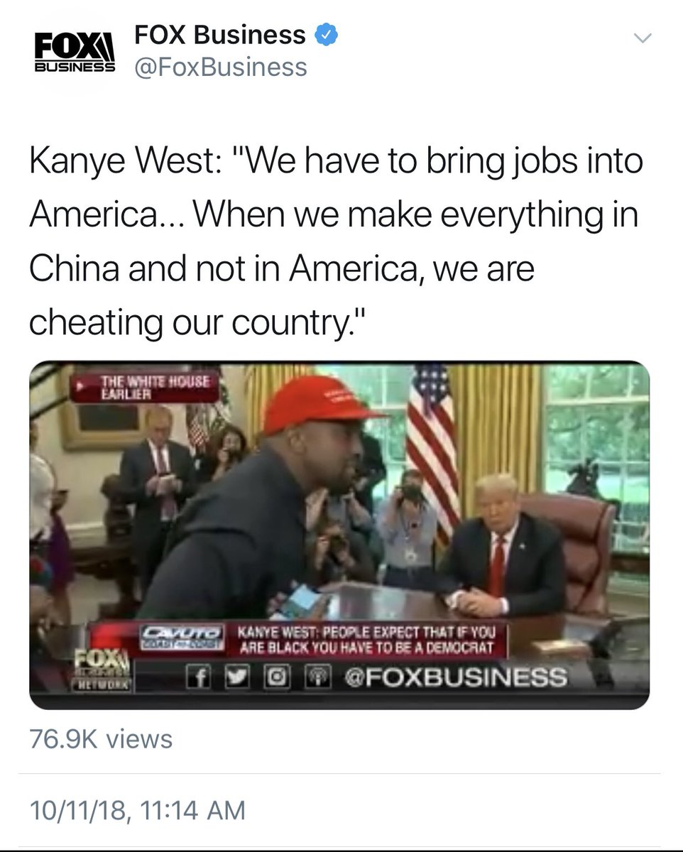Okay... who's gonna break it to Kanye?