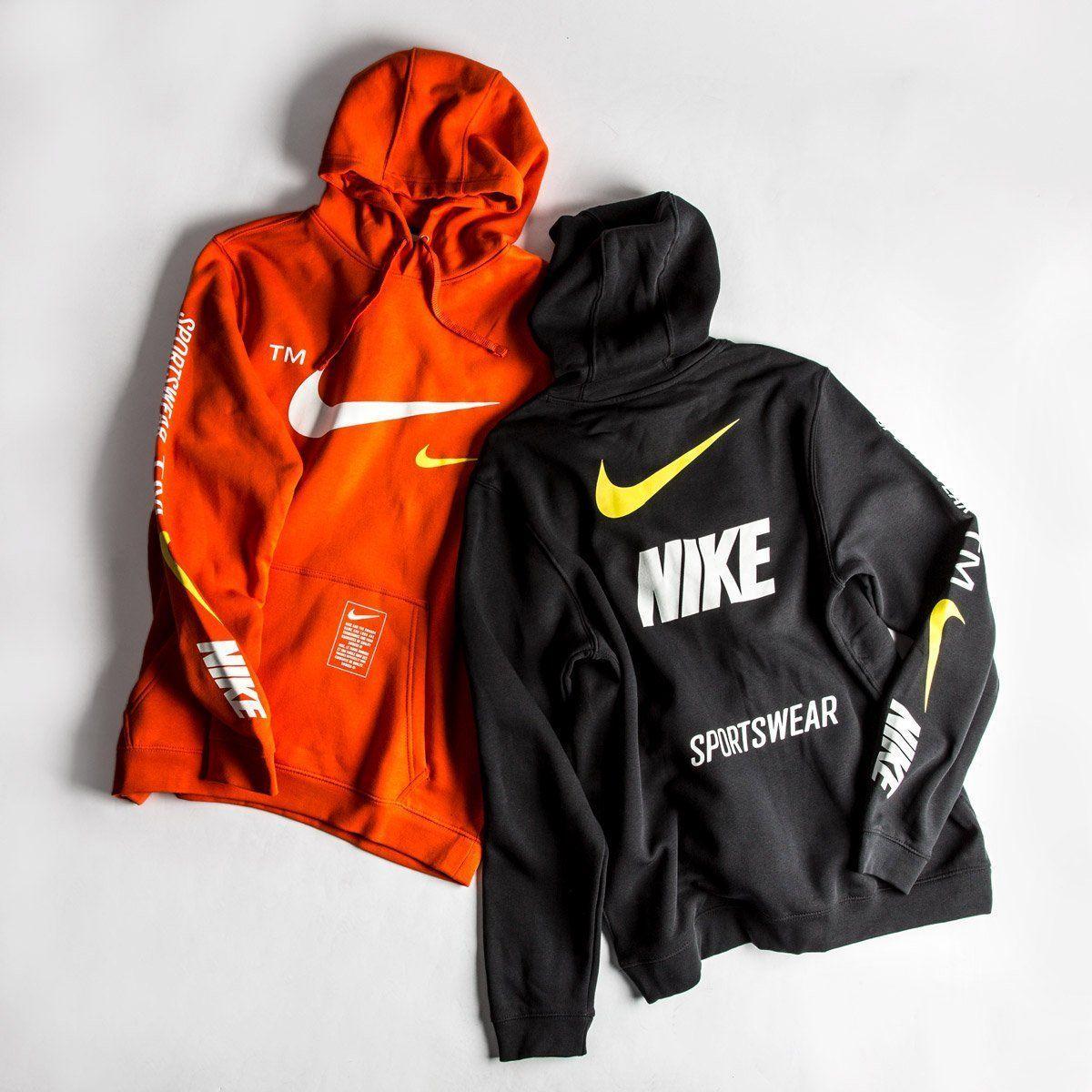 nike hoodie off white