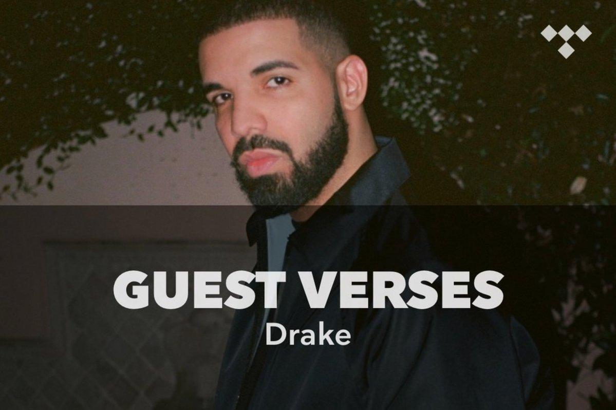Guest Verses: Drake https://t.co/yC3nYMOeLh #TIDAL https://t.co/9LSTA39cVH