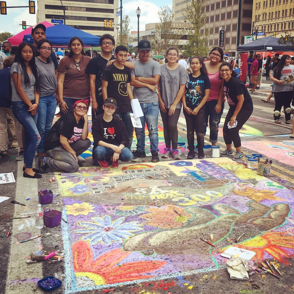 Chalk It Up 2018 Mural Complete!