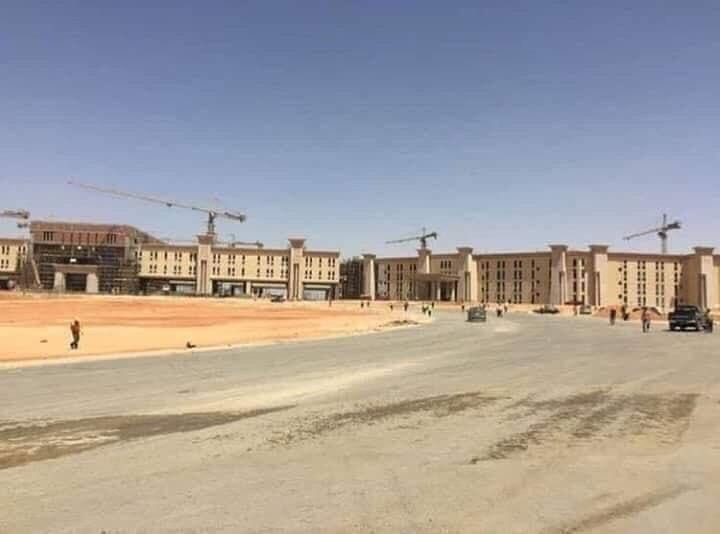 The Octagon :  مقر جديد لوزارة الدفاع المصرية  في العاصمة الإدارية الجديدة DpaX9YiWwAEcxTf