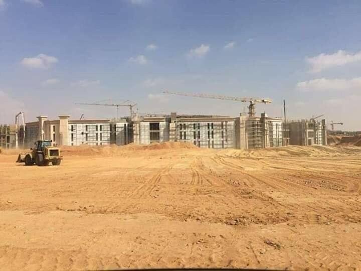The Octagon :  مقر جديد لوزارة الدفاع المصرية  في العاصمة الإدارية الجديدة DpaX9YiXoAAv-1v