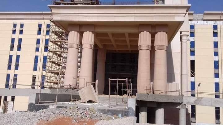 The Octagon :  مقر جديد لوزارة الدفاع المصرية  في العاصمة الإدارية الجديدة DpaX9ZYXoAEuG2-
