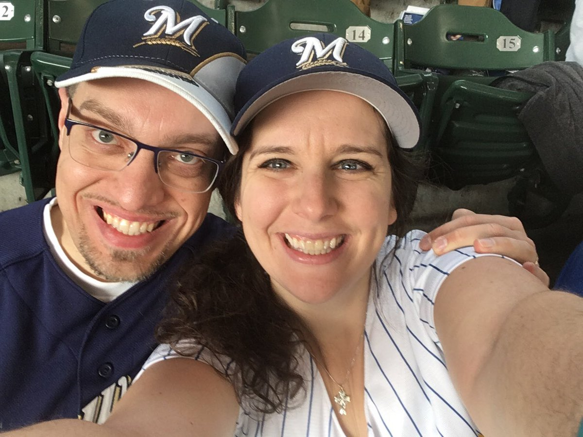 Here to see the @Brewers stretch the winning streak to Lucky 13!! #ThisisMyCrew #OurCrewOurOctober #GoBrewers ! https://t.co/ttWdtIG3rP