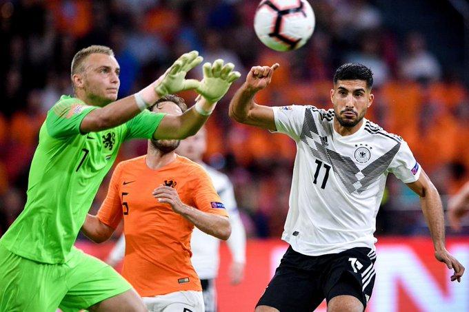 EN DIRECTO | Holanda está controlando el partido en el Johan Cruijff, Alemania sufre sin una clara referencia arriba #NationsLeague Foto