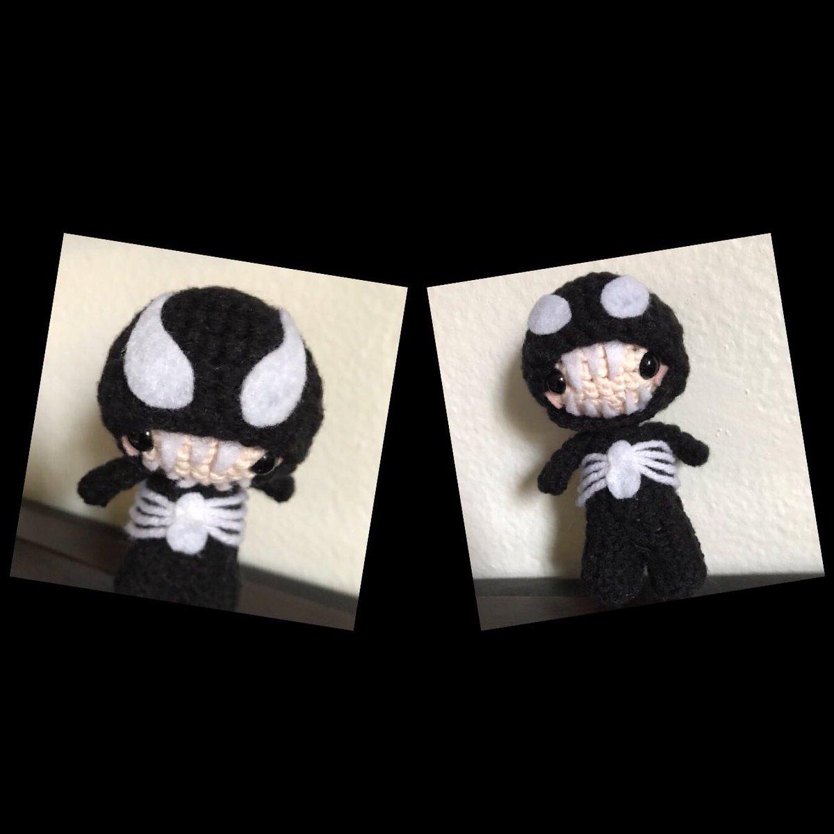 Victoria's Venom Amigurumi is Crochet Perfection! | Soft toy ... | 1200x1200