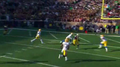 Book ➡️ Claypool for the TD! ☘️