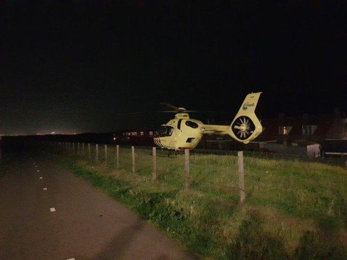 Terheijde Monster. Traumahelikopter inzet voor medisch situatie in woning. https://t.co/bCCnaLqt5j
