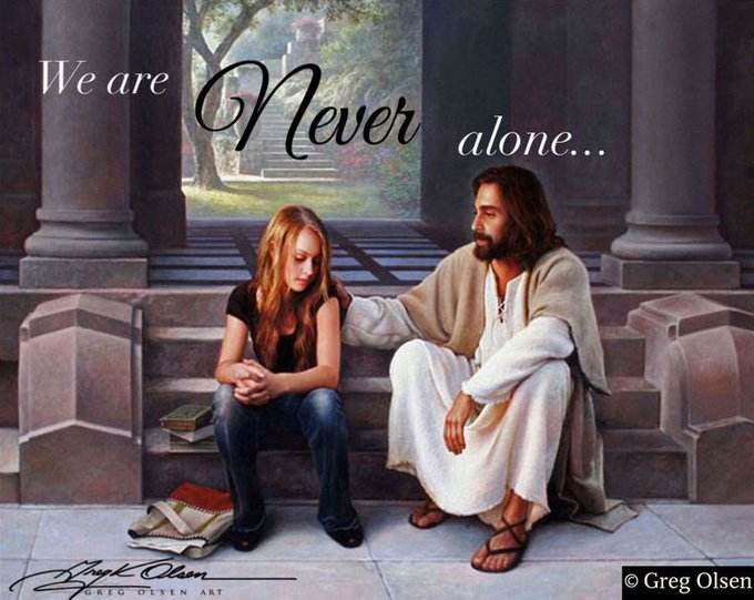 """God's answer 2 Elijah: U R NOT ALONE! Yet I have reserved seven thousand in Israel, all whose knees have not bowed to Baal, and every mouth that has not kissed him."""" 1 Kings 19:18 - Foto"""