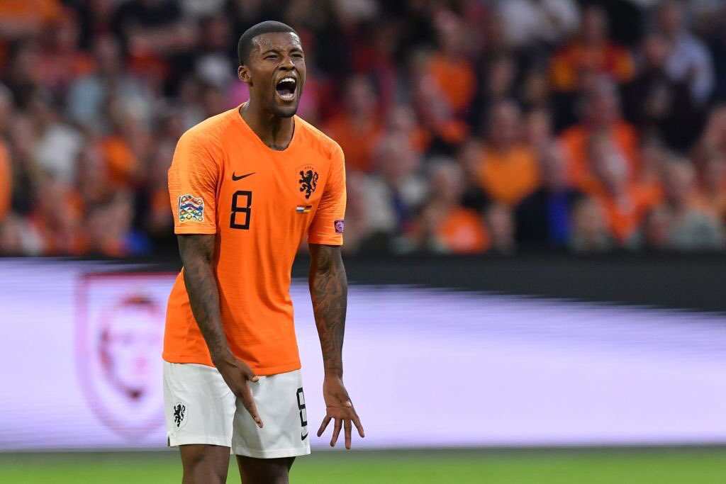 Gini Wijnaldum has scored 10 goals for club and country since joining Liverpool. Not a massive haul, but not bad when you consider the keepers he's beaten...  - Manuel Neuer - Alisson Becker - Thibault Courtois - Petr Cech <br>http://pic.twitter.com/b1XoVVcL26
