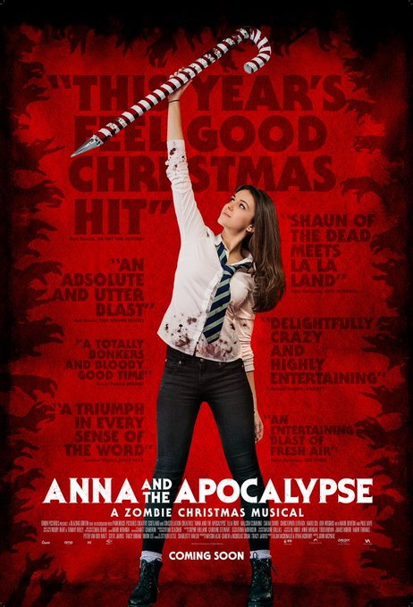 Very excited for dancing, singing, zombie slaying and getting in the Christmas spirit all at once with this ambitious flick tonight! @TADFilmFest #TADFF @AATApocalypse Photo