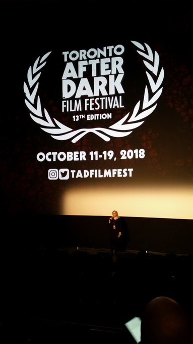 International Shorts After Dark - actress from SPLIT, directors from THE WORLD OVER & PVP. #TADFF Photo